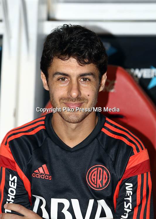 CAMPEONATO ARGENTINO Soccer / Football. <br /> RIVER PLATE Portraits <br /> Bs.As. Argentina. - May 31, 2015<br /> Here River Plate player Pablo Aimar<br /> &copy; PikoPress