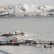 Þingvellir febrúar 2016