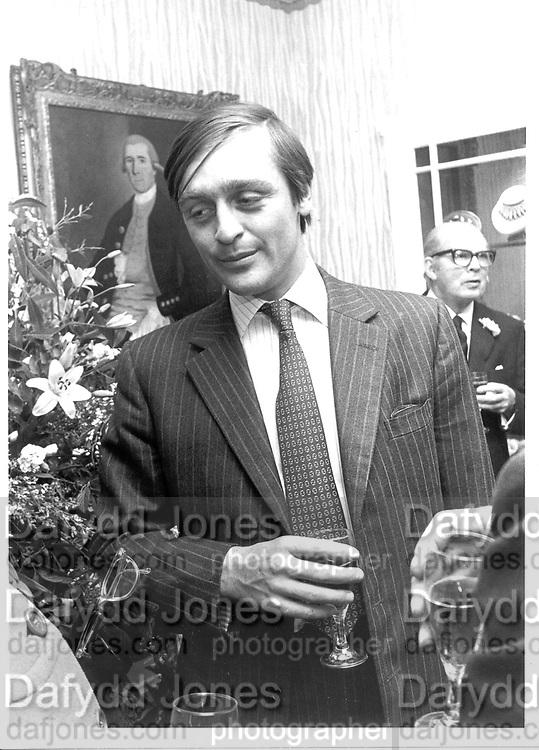 Duke of Westminster 13/12/84© Copyright Photograph by Dafydd Jones 66 Stockwell Park Rd. London SW9 0DA Tel 020 7733 0108 www.dafjones.com