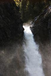Waterfall in Etnedal, Norway