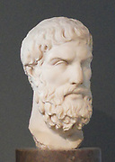 Epicurus of Samos,(341 BCE – Athens, 270 BCE) Greek philosopher and the founder of the school of philosophy called Epicureanism. Only a few fragments and letters remain of Epicurus's 300 written works. Much of what is known about Epicurean philosophy derives from later followers and commentators.