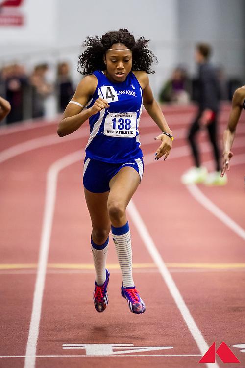 2015 ECAC & IC4A Indoor Championships, women's 200m final, Delaware