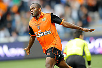 FOOTBALL - FRENCH CHAMPIONSHIP 2011/2012 - L1 - FC LORIENT v AJ AUXERRE - 21/09/2011 - PHOTO PASCAL ALLEE / DPPI - JOY INNOCENT NKASIOBI EMEGHARA (FCL)