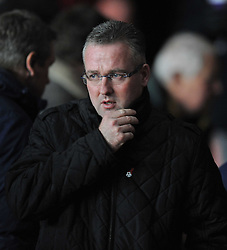 Aston Villa Manager, Paul Lambert - Photo mandatory by-line: Alex James/JMP - Tel: Mobile: 07966 386802 04/12/2013 - SPORT - Football - Southampton - St Mary's Stadium - Southampton v Aston Villa - Barclays Premier League