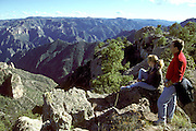 MEXICO, CHIHUAHUA STATE Copper Canyon near Divisadero
