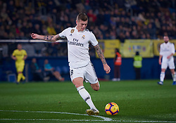January 3, 2019 - Villarreal, U.S. - VILLARREAL, SPAIN - JANUARY 03: Toni Kroos, midfielder of Real Madrid in action with the ball during the La Liga match between Villarreal CF and Real Madrid CF at Estadio de la Ceramica on January 03, 2018 in Villarreal, Spain. (Photo by Carlos Sanchez Martinez/Icon Sportswire) (Credit Image: © Carlos Sanchez Martinez/Icon SMI via ZUMA Press)
