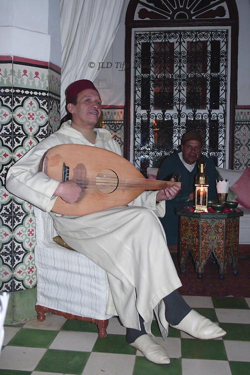 Marrakech restaurant and night club.