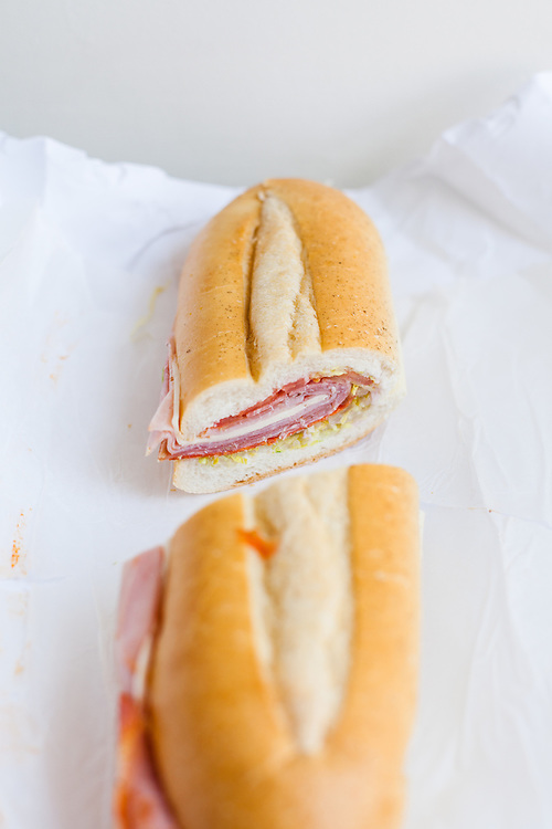 Italian Supreme Hero from Late Nite Superior Deli ($7.99) - WFH - cold not so mild after all