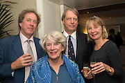 NIGEL CLARKE; GILES CLARKE; TESSA CLARKE; BEL CLARKE, An evening of entertainment at St James Court in support of the redevelopment of St Fagans National History Museum. In the spirit of the court of Llywelyn the Great . St. James Court Hotel. London. 17 September 2015<br />  <br /> Noson o adloniant yn St James Court i gefnogi ail-ddatblygiad Sain Ffagan Amgueddfa Werin Cymru
