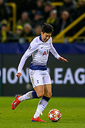 Tottenham Hotspur forward Heung-Min Son (7) during the Champions League round of 16, leg 2 of 2 match between Borussia Dortmund and Tottenham Hotspur at Signal Iduna Park, Dortmund, Germany on 5 March 2019.