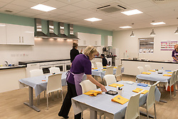 Tesco Extra, Rotherham, Yorkshire UK. The Eat Happy Kitchen Tesco Extra, Rotherham, Yorkshire UK. The Eat Happy Kitchen offers free activities for teachers, youth leaders and parents to help children build a healthier, happier relationship with food