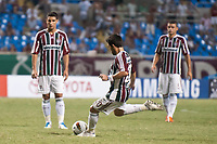 20120207: RIO DE JANEIRO, BRAZIL - Player Deco (FLU) at football match between Fluminense (BRA) vs  Arsenal de Sarandi (ARG) for Copa Libertadores, held at Engenhao stadium in RJ<br />