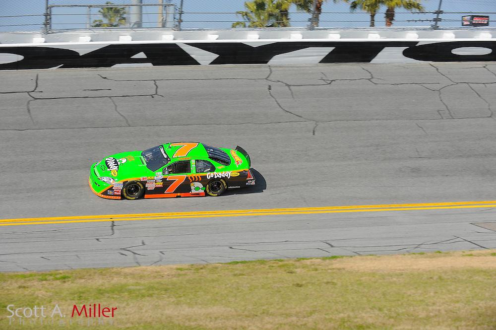 Feb. 13, 2010; Daytona Beach, FL, USA; Nationwide Series driver Danica Patrick (7) during the Drive4COPD 300  at Daytona International Speedway. ©2010 Scott A. Miller