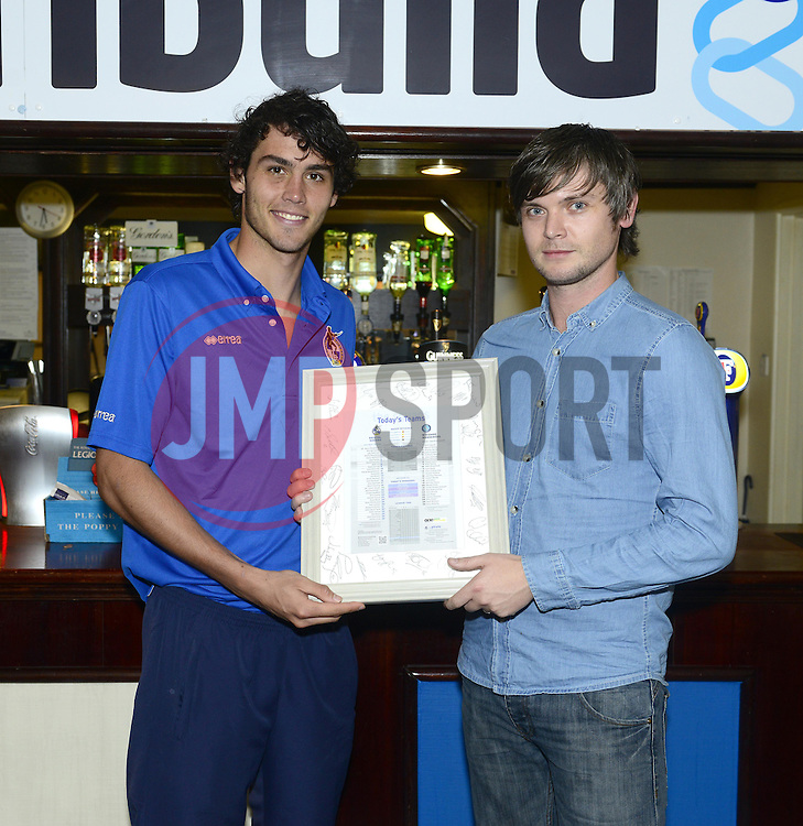 Man of the match Bristol Rovers' Will Packwood - Photo mandatory by-line: Joe Meredith/JMP - Tel: Mobile: 07966 386802 26/10/2013 - SPORT - FOOTBALL - Memorial stadium - Bristol - Bristol Rovers v Chesterfield United - League Two