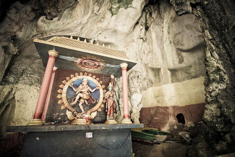 Hindu Shrine in Batu Caves, Kuala Lumpur