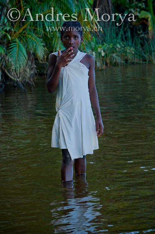 Malagasy children, Mananara, Madagascar Image by Andres Morya