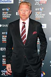 © Licensed to London News Pictures. 08/05/2014, UK. Boris Becker, BT Sport Industry Awards 2014, Battersea Evolution, London UK, 08 May 2014. Photo credit : Brett D. Cove/Piqtured/LNP