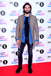 Jamie Jewitt attending BBC Radio 1's Teen Awards, at the SSE Arena, Wembley, London.