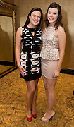 Saoirse Kenny Knocknacarra and Aoife Kilbane  Barna at the launch of the  hopefully Xmas number 1 single Tiny Dancer by a host of Irish singers ( Mary Black, Paddy Casey, John Spillane to mention just a few) and AIMS members at Hotel Meyrick in aid of the Lily Mae Trust. Picture:Andrew Downes..Photo issued with compliments, no reproduction fee.