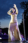 Abbi Jacobson performs during the Lip Sync Battle Live at SummerStage in Rumsey Playfield Central Park in New York City, New York on July 13, 2015.