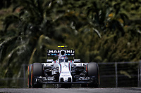 BOTTAS valtteri (fin) williams f1 mercedes fw37 action during 2015 Formula 1 FIA world championship, Malaysia Grand Prix, at Sepang from March 27th to 30th. Photo Francois Flamand / DPPI