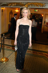 Actress CATE BLANCHETT at the 25th annual Awards of the London Film Critics' Circle in aid of the NSPCC held at The Dorchester Hotel, Park Lane, London W1 on 9th February 2005.<br /><br />NON EXCLUSIVE - WORLD RIGHTS
