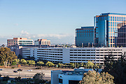 Irvine Businesses at MacArthur and 405 Freeway