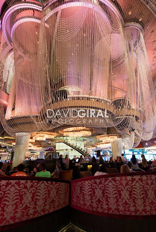 Interiors Photography: Chandelier Bar at Cosmopolitan Hotel, Casino & Resorts, Las Vegas, Nevada, USA