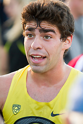 Boston College Invitational Cross Country race at Franklin Park; Jeremy Elkaim, University of Oregon
