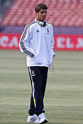 August 4, 2010; San Francisco, CA, USA;  before the game at Candlestick Park. Real Madrid defeated Club America 3-2.