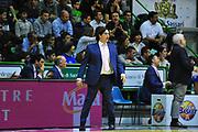 DESCRIZIONE : Sassari Lega A 2012-13 Dinamo Sassari Lenovo Cant&ugrave; Quarti di finale Play Off gara 2<br /> GIOCATORE : Andrea Trinchieri<br /> CATEGORIA : Coach<br /> SQUADRA : Lenovo Cant&ugrave;<br /> EVENTO : Campionato Lega A 2012-2013 Quarti di finale Play Off gara 2<br /> GARA : Dinamo Sassari Lenovo Cant&ugrave; Quarti di finale Play Off gara 2<br /> DATA : 11/05/2013<br /> SPORT : Pallacanestro <br /> AUTORE : Agenzia Ciamillo-Castoria/M.Turrini<br /> Galleria : Lega Basket A 2012-2013  <br /> Fotonotizia : Sassari Lega A 2012-13 Dinamo Sassari Lenovo Cant&ugrave; Play Off Gara 2<br /> Predefinita :