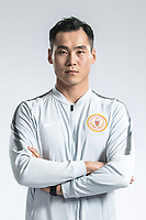 **EXCLUSIVE**Portrait of Chinese soccer player Jin Hui of Beijing Renhe F.C. for the 2018 Chinese Football Association Super League, in Shanghai, China, 24 February 2018.