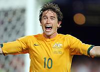 Jubel Australien 2:2 durch Harry Kewell<br /> Fussball WM 2006 Kroatien - Australien<br /> Kroatia - Australia<br /> Norway only