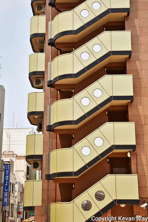 stairwell architecture Osaka Japan