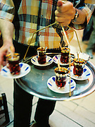 Serving tea in the Grand Bazaar