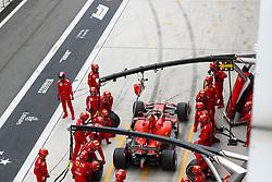 April 14, 2019 - Shanghai, China - Motorsports: FIA Formula One World Championship 2019, Grand Prix of China, ..#5 Sebastian Vettel (GER, Scuderia Ferrari Mission Winnow) (Credit Image: © Hoch Zwei via ZUMA Wire)