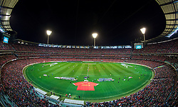 MELBOURNE, AUSTRALIA - Wednesday, July 24, 2013: Liverpool take on Melbourne Victory during a preseason friendly match at the Melbourne Cricket Ground. (Pic by David Rawcliffe/Propaganda)