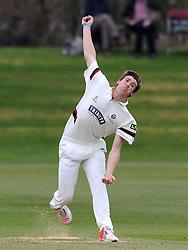 Somerset's Jamie Overton - Photo mandatory by-line: Harry Trump/JMP - Mobile: 07966 386802 - 23/03/15 - SPORT - CRICKET - Pre Season Fixture - Day 1 - Somerset v Glamorgan - Taunton Vale Cricket Club, Somerset, England.