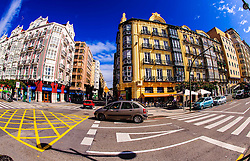 Street scene in Santander, Spain<br /> <br /> (c) Andrew Wilson | Edinburgh Elite media