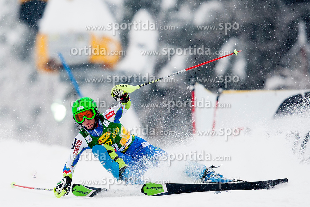 BREZOVNIKSasa of Slovenia during 1st Run of 50th Golden Fox Audi Alpine FIS Ski World Cup Ladies Slalom, on February 2, 2014 in Podkoren, Kranjska Gora, Slovenia. (Photo By Urban Urbanc / Sportida.com)