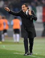 Fussball International, Nationalmannschaft   EURO 2012 Play Off, Qualifikation, Italien - Uruguay      15.11.2011 Trainer Cesare PRANDELLI (Italien)