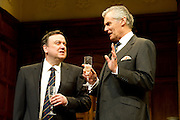 Yes, Prime Minister by Jonathan Lynn and Antony Jay.  Please see special instructions for usage rates. Following a sell-out run in the West End and a triumphant tour of the UK, Jonathan Lynn and Antony Jay's award-winning production will return to the West End, this time to the Apollo Theatre for a strictly limited season. Pictures shows Simon Williams as Sir Humphrey Appleby.
