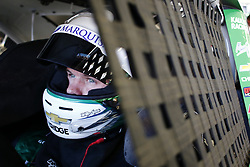 September 14, 2018 - Las Vegas, Nevada, United States of America - Ryan Truex (11) straps into his car to practice for the DC Solar 300 at Las Vegas Motor Speedway in Las Vegas, Nevada. (Credit Image: © Chris Owens Asp Inc/ASP via ZUMA Wire)