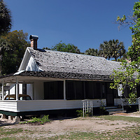 Marjorie Kinnan Rawlings Historical site in the city of Micanopy along the Old Florida Heritage Parkway in Micanopy, Florida. (AP Photo/Alex Menendez) Florida scenic highway photos from the State of Florida. Florida scenic images of the Sunshine State.