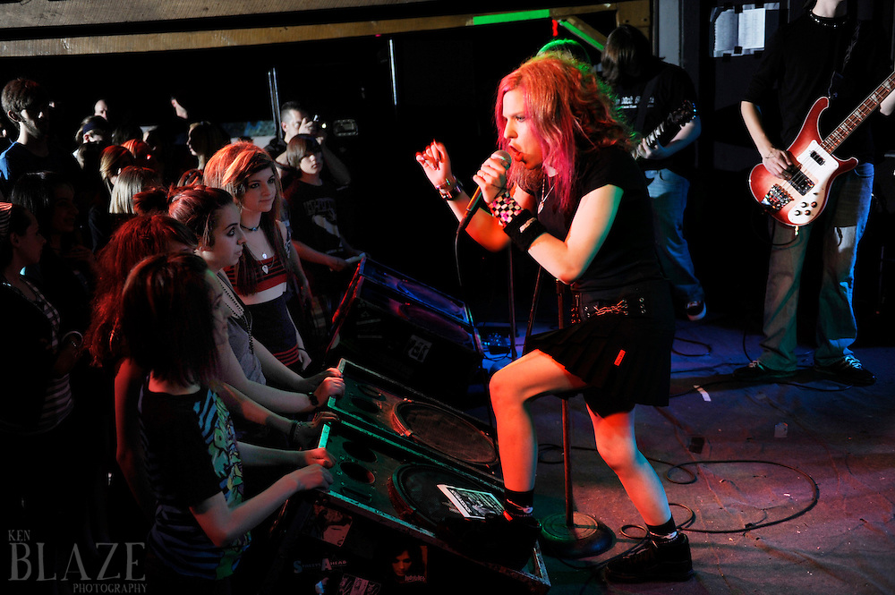 School of Rock. .May 1, 2010.Phantasy Nite Club..All rights reserved..Photo by Ken Blaze.www.kenblaze.com.