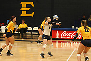 October 28, 2017 - Johnson City, Tennessee - Brooks Gym: ETSU libero Marija Popovic (9)<br /> <br /> Image Credit: Dakota Hamilton/ETSU