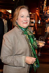 SHELLEY VON STRUNCKEL at the opening of the exhibition 'My Mother Was A Reeler' at Etro, 43 Old Bond Street, London on 5th October 2016.