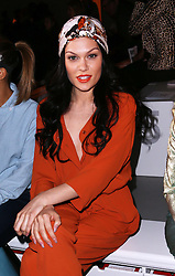 Jessie J at the Vivienne Westwood show  at London Fashion Week A/W 2014, Sunday, 16th February 2014. Picture by Stephen Lock / i-Images