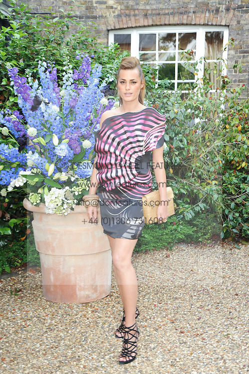 YASMIN LE BON at the Raisa Gorbachev Foundation Party held at Stud House, Hampton Court Palace on 5th June 2010.  The night is in aid of the Raisa Gorbachev Foundation, an international fund fighting child cancer.