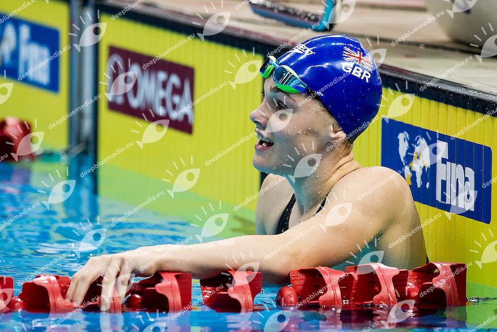 MATTS Katie GBR<br /> 100 Breaststroke Women Bronze Medal<br /> Day04 28/08/2015 - OCBC Aquatic Center<br /> V FINA World Junior Swimming Championships<br /> Singapore SIN  Aug. 25-30 2015 <br /> Photo A.Masini/Deepbluemedia/Insidefoto